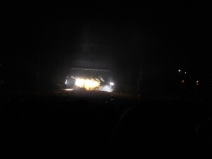 Nine Inch Nails perform at the Cricket Wireless Amphitheatre in Chula Vista, California