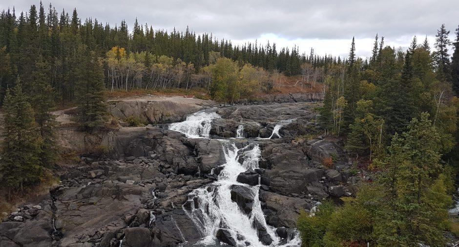 Cameron Falls, Yellowknife, NWT